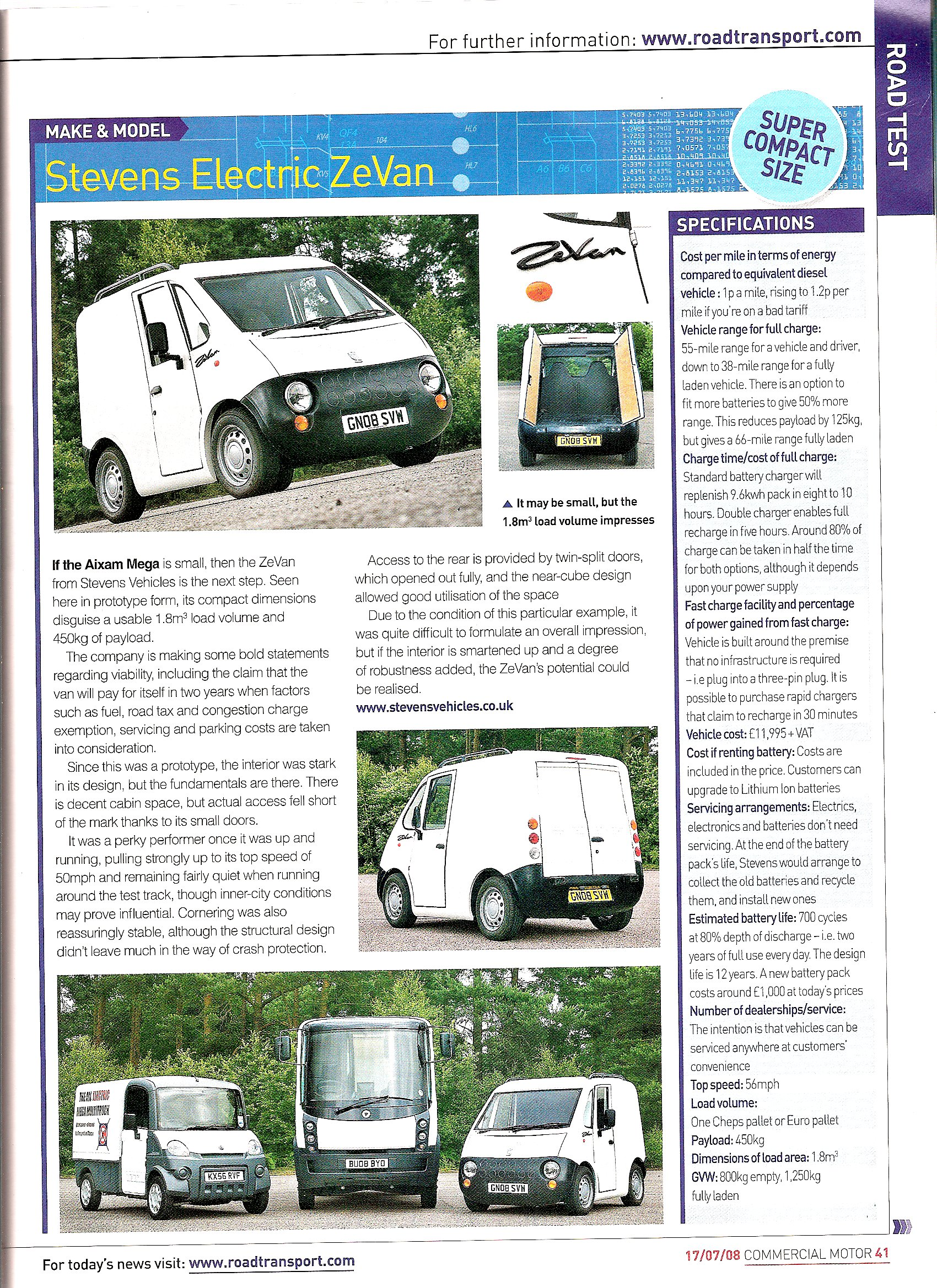 commercial motor magazine review